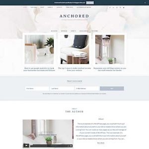 Anchored_featured best feminine wordpress themes