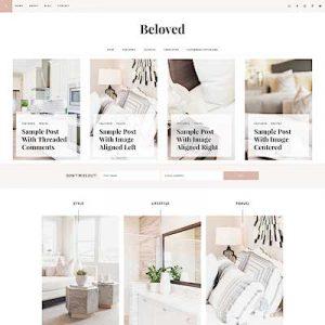 Beloved_featured best feminine wordpress themes