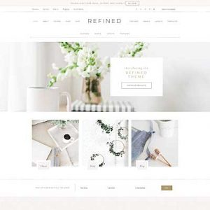 Refined best feminine wordpress themes