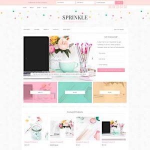 Sprinkle best feminine wordpress themes