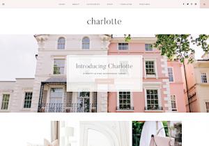 charlotte best feminine wordpress themes