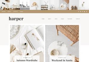 harper best feminine wordpress themes