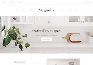 magnolia best feminine wordpress themes
