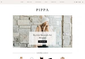 pippa best feminine wordpress themes